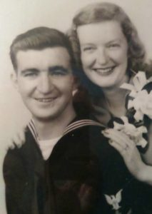 US Sailor and Wife (Circa 19460