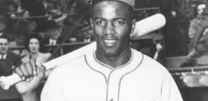 Jackie Robinson in Montreal Royals Uniform